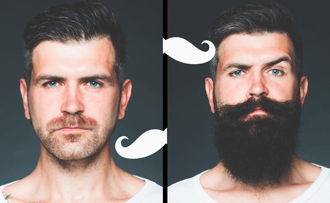 как отрастить бороду если она редкая фото сегодня социально