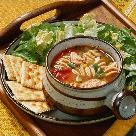 суп и салат