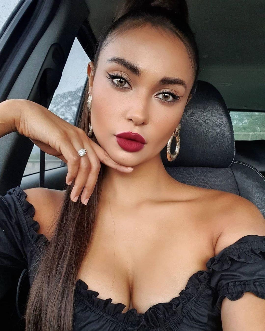 Марона Таннер макияж для фотосессии