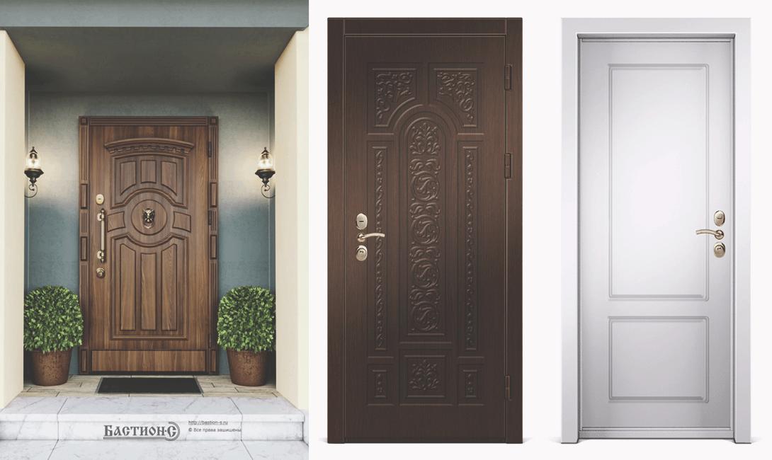 Металлическая дверь Бастион