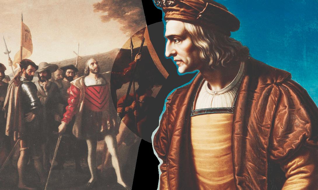 Христофор Колумб на страницах мужского журнала brodude