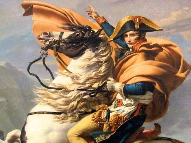 Наполеон на страницах мужского журнала brodude