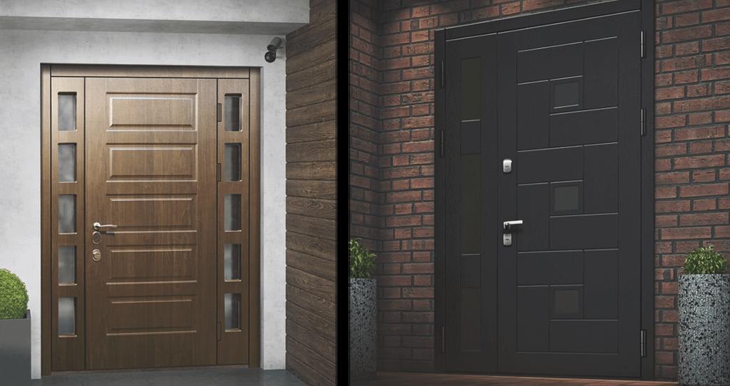 Двери с защитой от высверливания замка