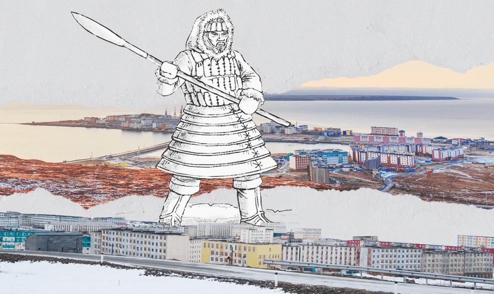 Чукотка: города и поселки