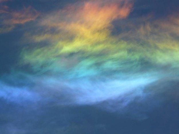 Огненная радуга - необычное природное явление на страницах мужского журнала brodude