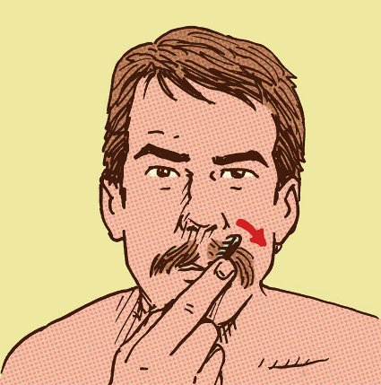 расчесывай усы