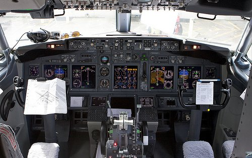 как посадить самолет