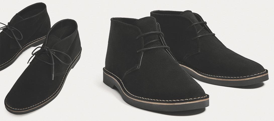 Дезерты - вид обуви в английском стиле
