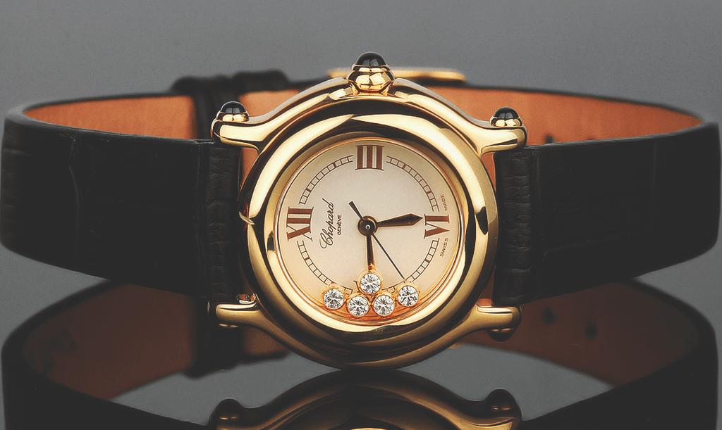 Золотые часы как ювелирное украшение